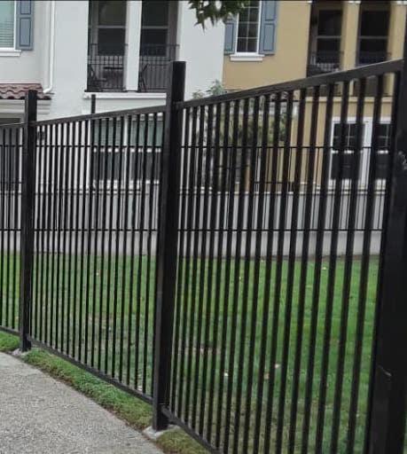 Commercial Aluminum Fence Fremont CA