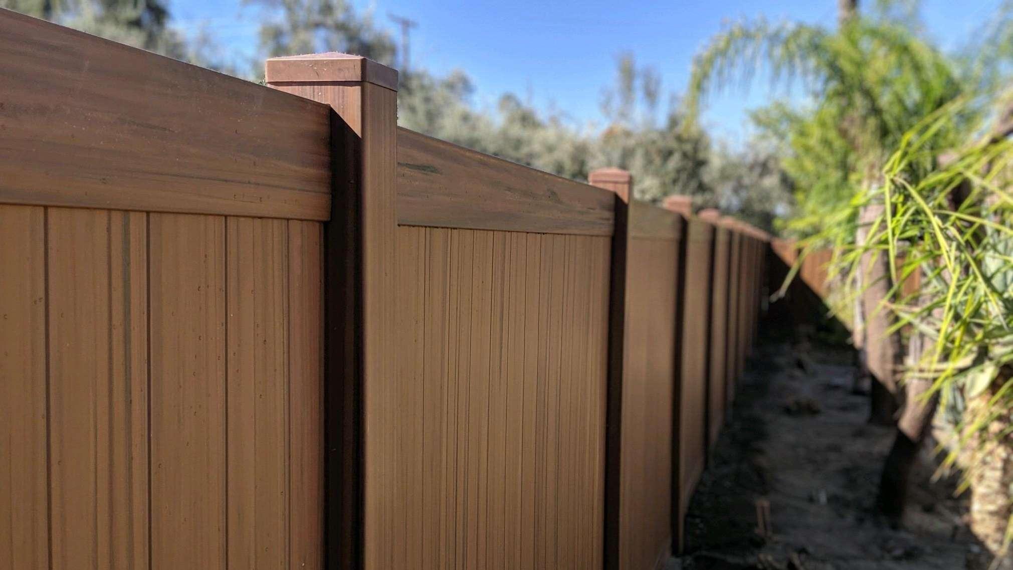 trex composite fence Carson ca