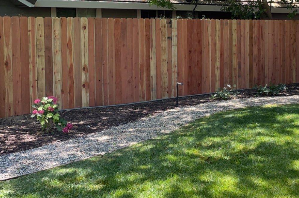 redwood fence Roseville CA
